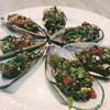 หอยแมลงภู่นิวซีแลนด์ ผัดพริกไทยดำ
