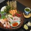 Nine star sashimi