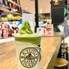 Matcha Latte Softcream Matcha & Pearls