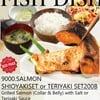 9000 Salmon  Yaki Set