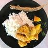 แกงส้มปลาทับทิม ปลาเขือแดดเดียว