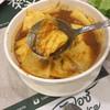 แกงส้มปลากะพง • ยอดมะพร้าว ที่ ร้านอาหาร Baan Ice ไอคอนสยาม