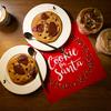 Santa's milk and cookies set