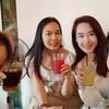 พาเพื่อนมากินด้วย เมนูที่ไม่ใช่กาแฟก็มีนะ เป็นน้ำผลไม้สกัดเย็นค่ะ