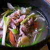 ซุปเนื้อ ผักกวางตุ้ง