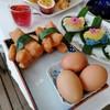 อาหารเช้า: ไข่ลวก ปาท่องโก๋