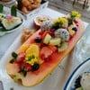 อาหารเช้า: ผลไม้