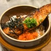 Salmon kamameshi + Miso soup