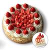 สตรอเบอร์รี่ โอเวอร์ โหลด เค้ก Strawberry Overload Cake