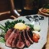 ยำเนื้อย่างญี่ปุ่น