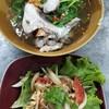 ต้มยำหัวปลา และ ยำไข่ปลา เป็นเมนูคู่อร่อย ทานกับข้าวสวยร้อนๆ ต้องลองทานดู