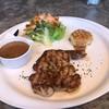 สเต็กสันคอหมูคุโรบุตะ ราดซอสพริกไทย
