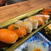ซูชิแซลมอน+หอยเชลล์เลมอน+ซูชิไข่ปลาแซลมอน