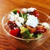 Mixed Tomatoes ,avocado, cashew ricotta salad