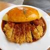 ข้าวห่อไข่หน้าหมูทอดราดซอสเดมิกลาส 230.-+20 for lava style egg