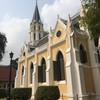 พระอุโบสถสไตล์โบสถ์คริสต์