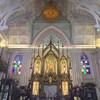 พระประธานในพระอุโบสถ บรรยากาศแบบโบสถ์คริสต์