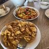 ไข่เจียวปู ปูเป็นคำๆ พร้อม หมึกไข่เค็ม
