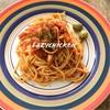 Spaghetti tomato sauce เมนูโปรดเจ้า