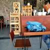 Inside at V8 Cafe