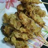 Pork satay at SATE PORK RESTAURANT (CHAO KAO SOI PLAENG NAM)