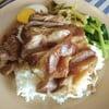 ข้าวขาหมู เนื้อหนัง+ไข่+ใส้