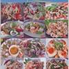 มีเมนูหลากหลายให้เลือก ตามใจชอบค่ะ อาหารจานเดียว 34-45 ส่วนอาหารกับแกล้ม 50-80