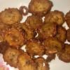 Deep fried marinated intestines