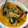 แกงคั่ว ที่หอมปลาย่างยั่วยวนมาก อร่อยมาก ปกติเป็นคนไม่ชอบกินแกงกะทิ คือ ยอมเลย อ