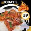 ข้าวไก่ทอดซอสแจ่วไทย แจ่วไทยๆนำมาปรับสูตรพิเศษไว้คลุกเคล้ากับไก่ทอดเนื้อนุ่มกรอบ