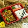 ชุดสตูลิ้นวัวสูตรแทงค์ พร้อมข้าวญี่ปุ่นและสลัดปูอัด