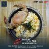 ข้าวผัดซอสญี่ปุ่นหน้าไข่คั่ว ปูนิ่มทอด