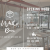 Opening Hours : White Box Mae Chan
