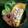 ขนมเบื้องญวน หนึ่งในเมนูสุดฮิต หาทานยาก แป้งที่ปรุงรสพิเศษ ใส่ไส้ที่ผัดได้อร่อยล