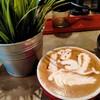ลายกาแฟสวยมากค่ะ กาแฟหอมอร่อยแปลกกว่าที่เคยกินร้านอื่น
