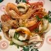 รสชาติดี แซ่บดี เผ็ด เปรี้ยว หวาน กลมกล่อม มีกุ้งและปลาหมึก สดดี ตัวใหญ่ด้วย