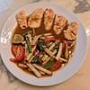 ตำไหลบัว แซลม่อน อร่อยมากกกกก สั่งมากินที่บ้านแพคมาอย่างดี อาหารเมนูหลากหลาย