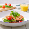 36% off Garlic butter roasted salmon