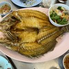 ปลากระพงทอดน้ำปลา 420.-
