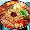 บูเดชิเก/บูเดจิเก (หม้อไฟเกาหลี) budae jjigae army base stew