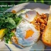 Harrisa Chickpeas and Egg