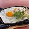 ไข่กระทะ แบบเตาร้อน