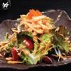 Shirauo Salad สลัดปลาเงินทอดกรอบ