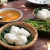 ขนมจีนต้นก้ามปู วัดจันทร์