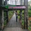 ทางเข้าสะพานแขวนภูเขารูปหัวใจ