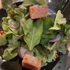 Grilled Salmon Wasabi Mayo Salad