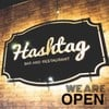 Hashtag bar and restaurant