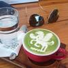 Latte art สวยมาก ฟองนมนุ่ม ชาเขียวละมุน