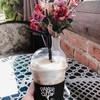 Latte ice coffee