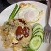 ข้าวผัดกุนเชียงไข่ดาว